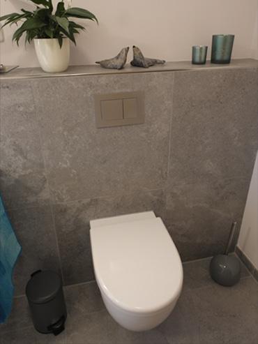 WC nach der Badrenovierung