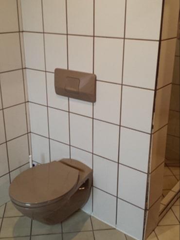WC vor der Badrenovierung